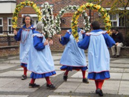 The Amy Rowson Centenary Weekend: Morris Dancers