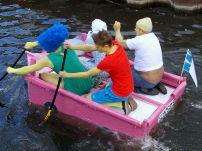 2015 Raft Race: The Simpsons